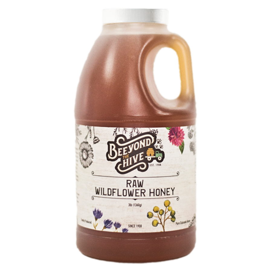 Raw Wildflower Honey 3lb